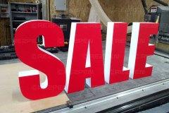Буквы SALE для магазина