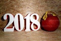 Буквы из пенопласта для нового года