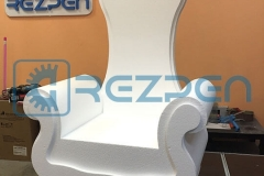 Изготовление кресло трона