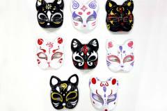 Японские маски животных