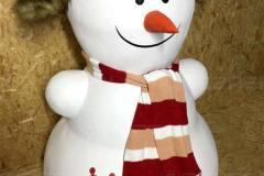 Фигура снеговика из пенопласта