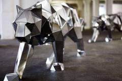 Полигональные животные
