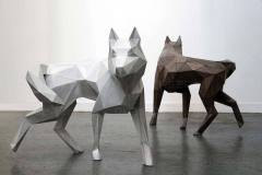 Полигональные волки