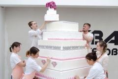 Большой торт из заготовок