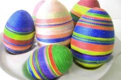 Яйца для Пасхи из пенопласта