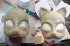 Изготовление японских масок
