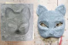Изготовление японских масок лисы