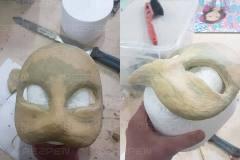 Изготовление масок в ручную