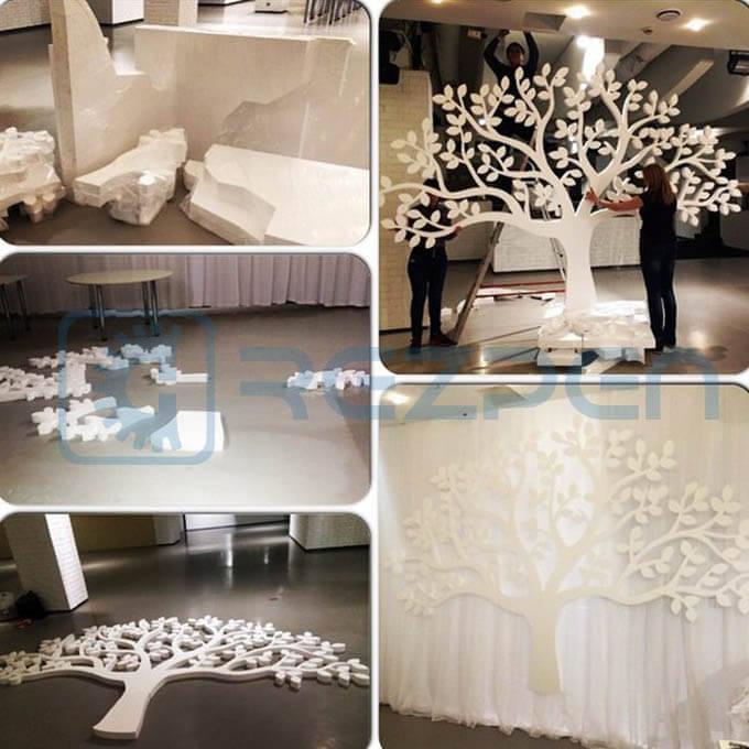 фигуры для декора свадьбы