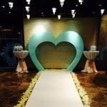Свадебная арка из пенопласта