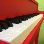 пианино из пенопласта