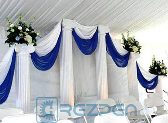 свадебная арка из колон