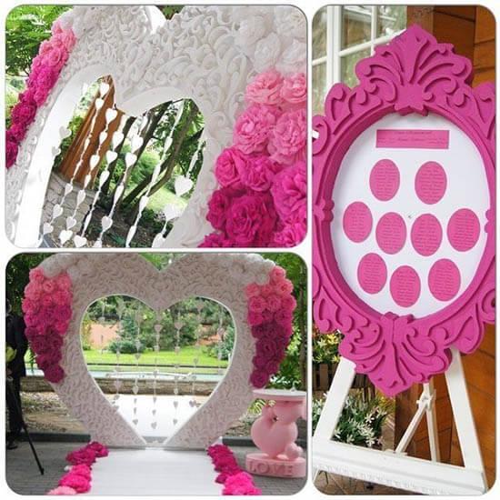 аренда свадебной арки для выездной регистрации
