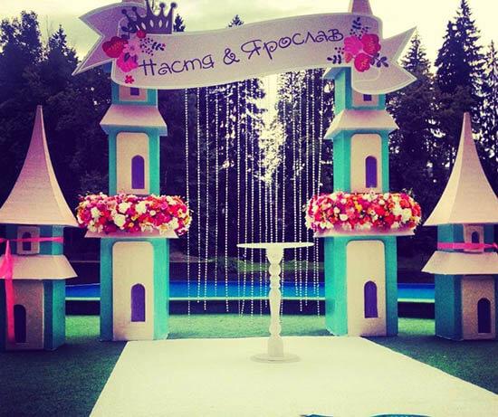 аренда и прокат свадебной арки