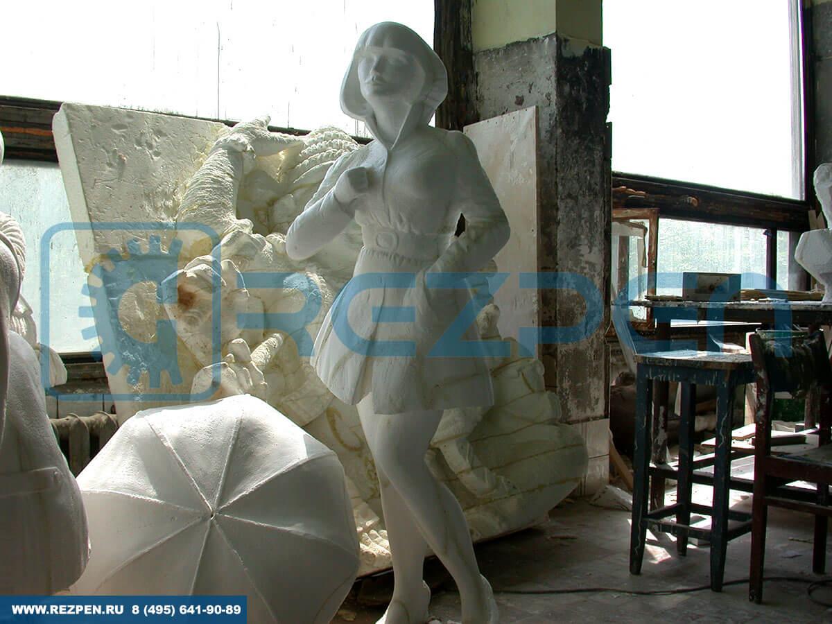 объемные фигуры из пенопласта