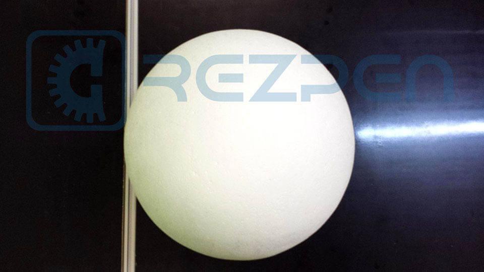 флористический шар из пенопласта для топиария