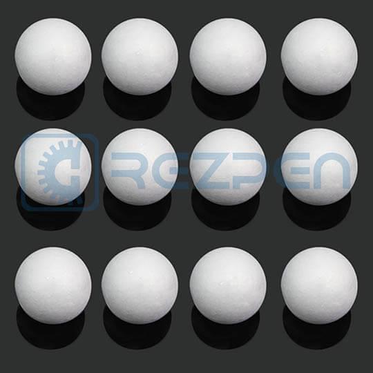 флористические шарики из пенопласта