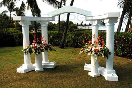 аренда свадебной арки из пенопласта