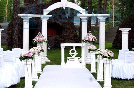 прокат свадебной арки из пенопласта