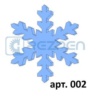 купить снежинки из пенопласта