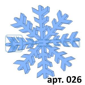 купить снежинки для декора