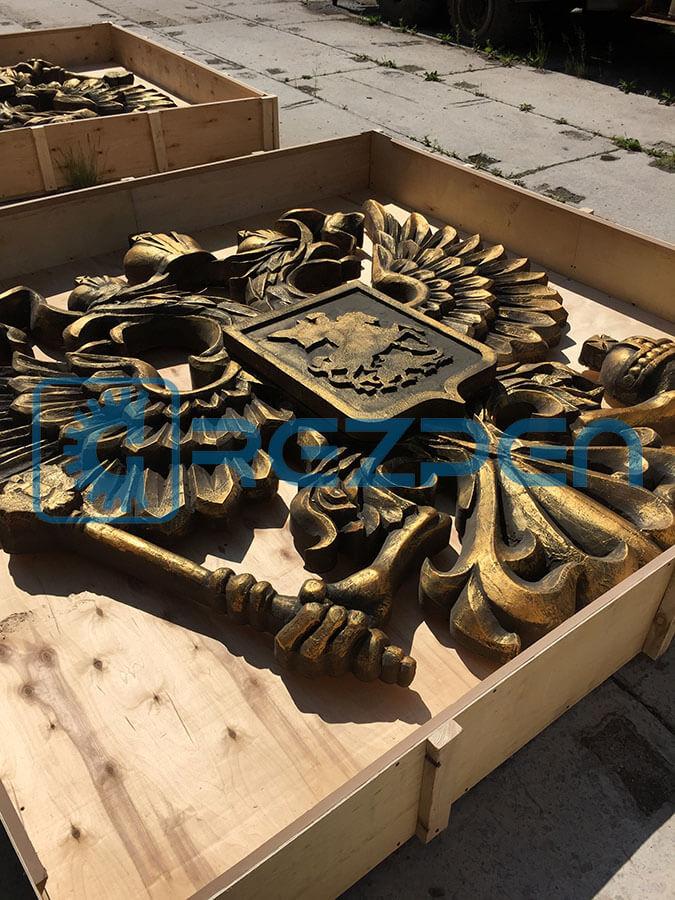 Изготовление гербов России