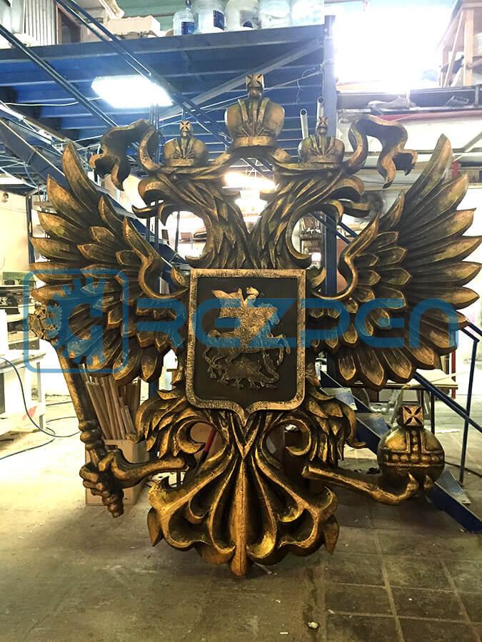 Фигура из пенопласта герб России