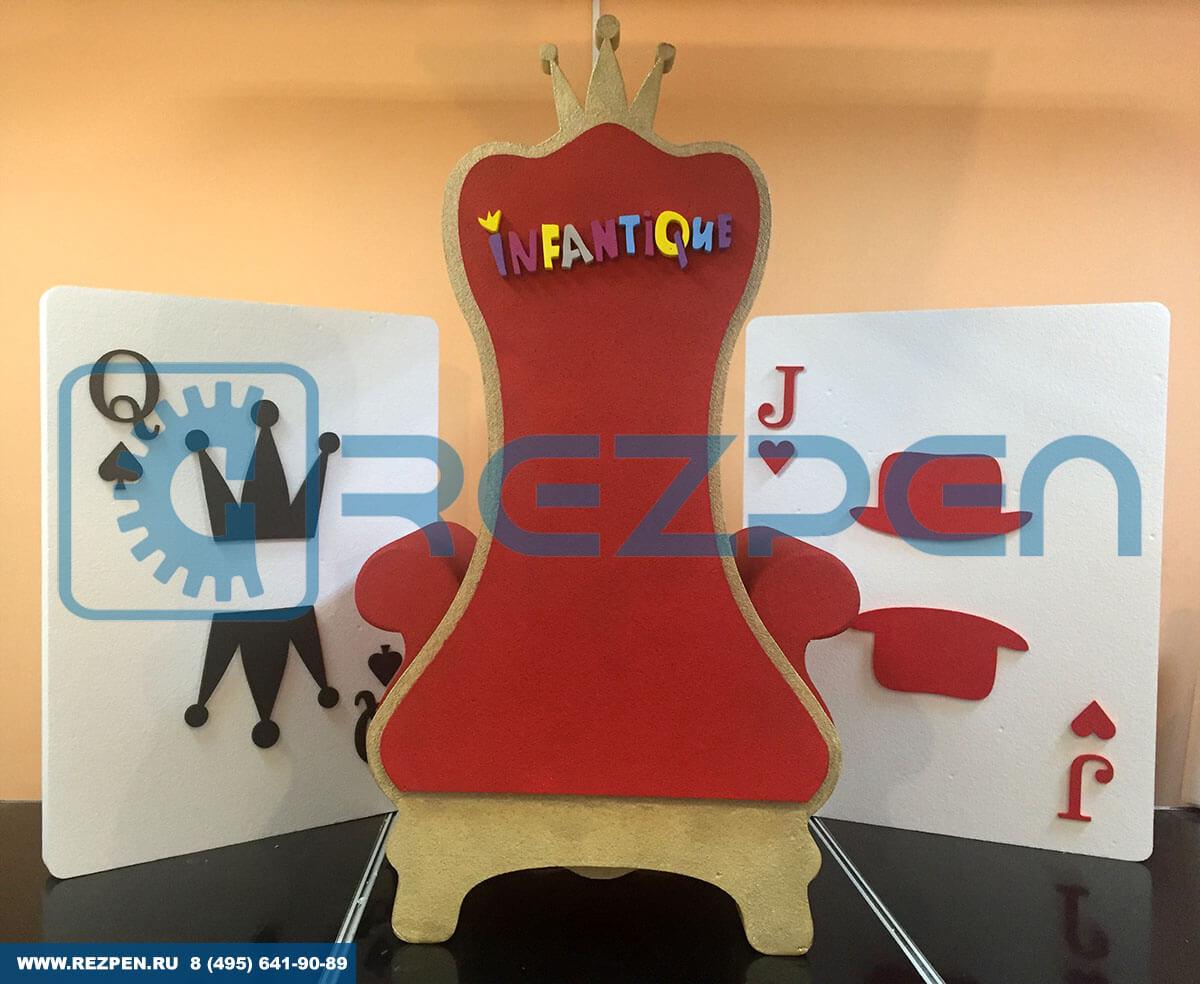 кресло-трон Алиса в стране чудес