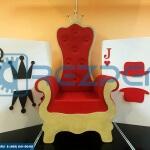 Изготовление кресло-трона «Алиса в стране чудес».