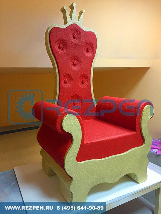 кресло-трон на заказ