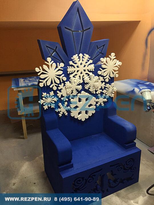 трон в стиле холодного сердца