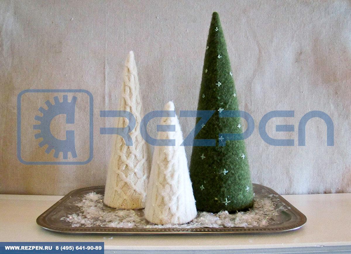 декоративный конус из пенопласта